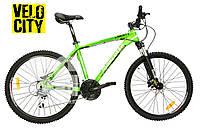 Велосипед гидравлика Mascotte LIBERTY MD зеленый, фото 1