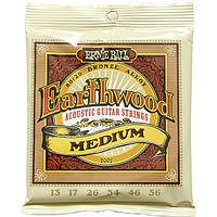Струны Ernie Ball 2002 Earthwood Bronze Alloy Medium 13-56