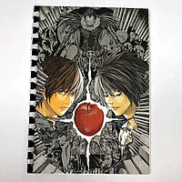Блокнот СкетчБук аниме Тетрадь смерти Death Note для рисования (sk0043)