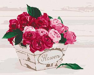 "Картина за номерами. Art Craft ""Flower's box"" 38*50 см 12137-AC"