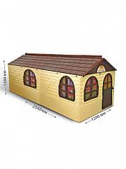 Великий будиночок для дітей зі шторками Doloni 02550/22