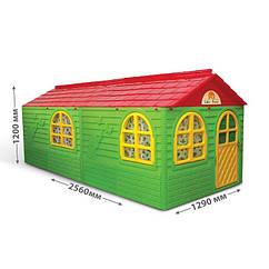Великий будиночок для дітей зі шторками Doloni 02550/23