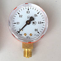 Манометр пропановый 0 - 0.6 МПа