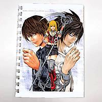 Блокнот СкетчБук аниме Тетрадь смерти Death Note для рисования (sk0044)