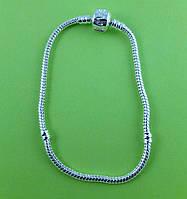 """Основа для браслета """"Pandora"""", метал, 19 см"""