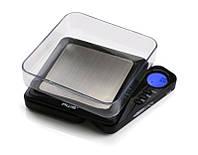 Весы карманные gs-100 (6278), ювелирные, оригинальная конструкция, жк-дисплей с подсветкой, 6 единиц веса