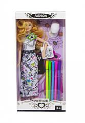 Кукла - с раскраской 587A/C