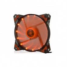 Вентилятор 120*120*25мм 3pin+molex Crown-Micro CMCF-12025S-1223 оранжевий LED новий