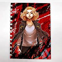 Блокнот СкетчБук аниме Токийские Мстители для рисования (sk0065)