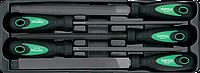 Набір напилків 5 од. (в ложементі) TOPTUL GBAT0501, фото 1