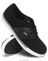 Мужские повседневные кроссовки Puma (Black/White/Green)