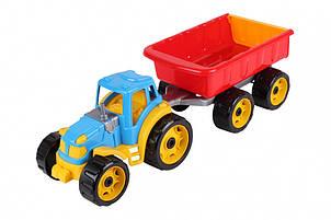 Трактор з причепом 3442TXK (Різнокольоровий)