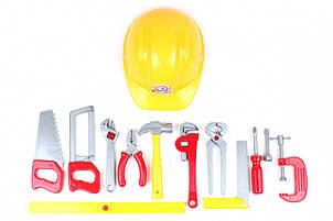 """Набор инструментов """"Tools Set"""" (11 инструментов и каска) 5873"""