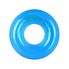Дитячий надувний круг 59260 Прозорий (Блакитний)