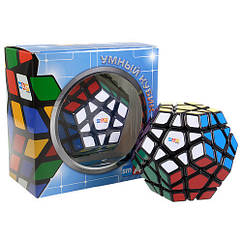 Кубик Рубика Мегаминкс черный Smart Cube SCM1
