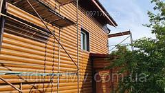 Металевий Блок хаус, сайдинг