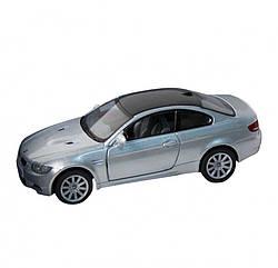 Машинка BMW M3 COUPE 5 Kinsmart KT5348W інерційна, 1:36 (Сріблястий)