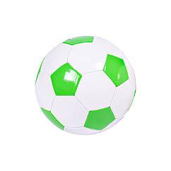 Мяч футбольный BT-FB-0243 диаметр 21,8 см (Зелёный)