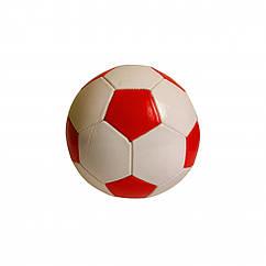 Мяч футбольный BT-FB-0243 диаметр 21,8 см (Красный)