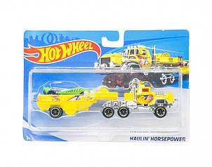 """Машина """"Hot Wheel. TRUCK"""" T-F328-1 (Жовтий)"""
