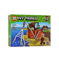 "Конструктор Minecraft ""Споруди"" 63059 (63059-2)"