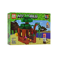 "Конструктор Minecraft ""Споруди"" 63059 (63059-3)"
