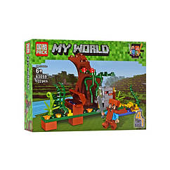 "Конструктор Minecraft ""Споруди"" 63059 (63059-4)"