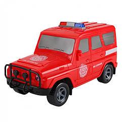 """Дитячий Сейф-скарбничка """"Машинка"""" Metr+ JH1989 з кодовим замком (Пожежна)"""