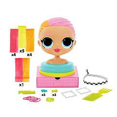 """Лялька-манекен L. O. L SURPRISE! серії """"O. M. G."""" - ЛЕДІ НЕОН (з аксесуарами)"""