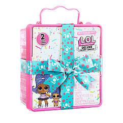 Ігровий набір L.O.L. Surprise подарунок з экскл.лялькою і вихованцем LOL Deluxe Present Surprise 576419