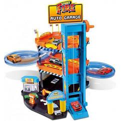 Ігровий набір - ПАРКІНГ (3 рівня, 2 машинки 1:43)