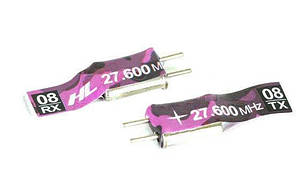 Кристал 08 -27,600 MHz