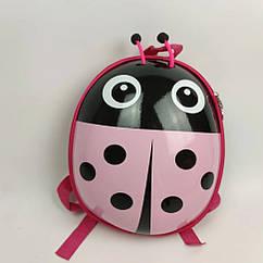 """Дитячий рюкзак """"Божа корівка"""" рожевий HY0002-4"""