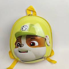 """Дитячий рюкзак """"Веселі щенята"""" жовтий HY0001-4"""