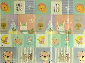 Коврик детский Животные Mat4baby 249PNL 2.0х1,5х0.1 двухсторонний
