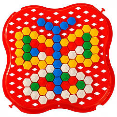 """Розвиваюча іграшка """"Мозаїка"""" міні 39112 (Червоний)"""