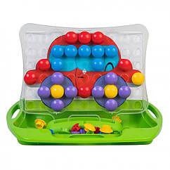"""Розвиваюча іграшка """"Моя перша мозаїка"""" 39370 (Зелений)"""