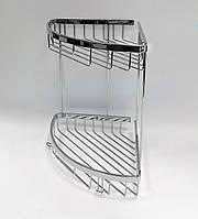 Полочка для ванной из латуни, серия Long, хром, 25112, фото 1