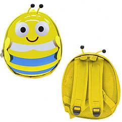 """Рюкзак дитячий """"Бджілка"""" Bambi BG8402 30х25х10 см (Жовтий)"""