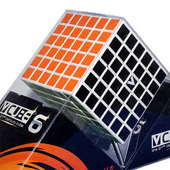 V-CUBE 6x6 White | Кубик 6х6 белый плоский 00.0002
