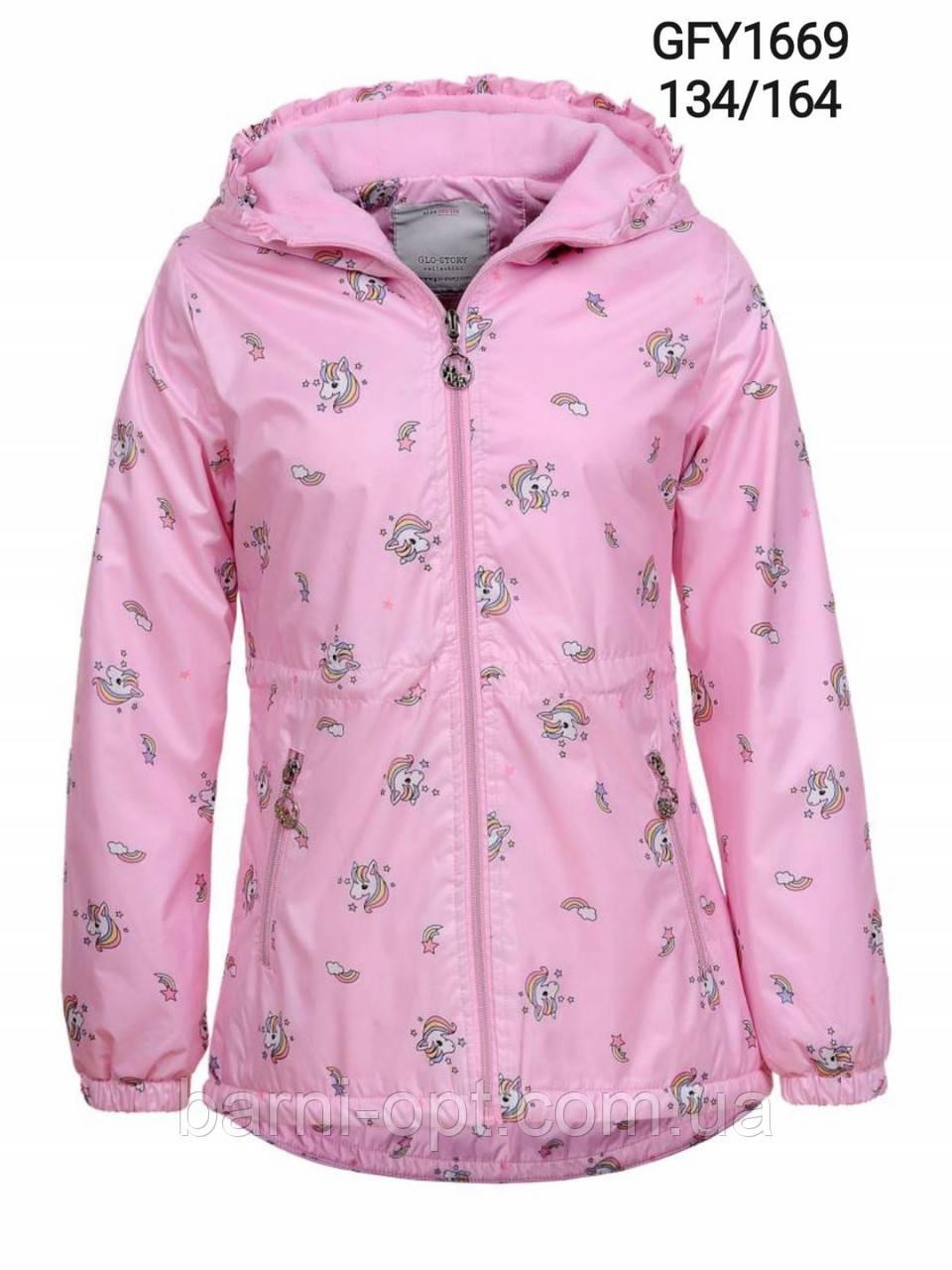 Куртки на флисовой подкладке для девочек, Glo-story, 152/158  рр