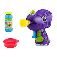 """Мильні бульбашки """"Динозавр фіолетовий"""" 60 мл DHOBB10124"""