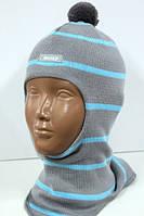 Весенняя шапочка-шлем