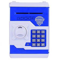Скарбничка сейф MK 3916 18см (Синій)