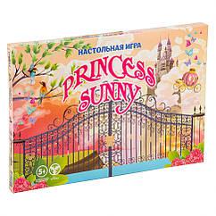 """Настольная Игра-бродилка """"Princess sunny"""" Strateg 30356 рус."""