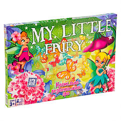 "Настільна Гра-бродилка ""My little fairy"" Strateg 30458 укр."