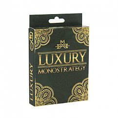 """Карточная игра """"Luxury Monostrategy"""" Strateg 30658 укр."""