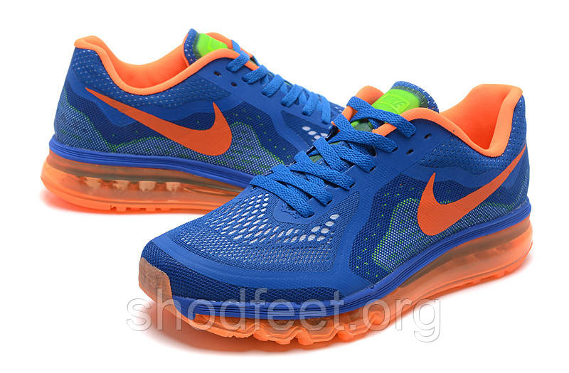 Кроссовки Nike Air Max 2014 Blue Orange