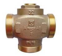 """HERZ Teplomix DN25 1 1\4"""" 60C трехходовой термосмесительный клапан 1776603"""