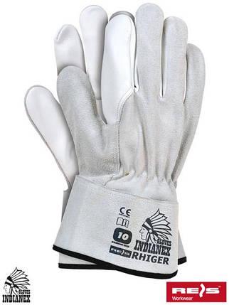 Защитные перчатки из яловой кожи RHIGER JSW, фото 2